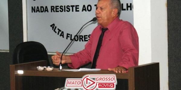 Vereador de Alta Floresta propõe alternativas a prefeitura para solucionar a questão da poeira e trânsito no município 44