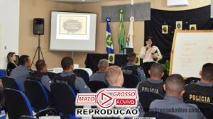 Evento que promove palestra sobre a saúde mental de policiais é ministrado em Alta Floresta 137