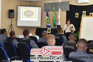 Evento que promove palestra sobre a saúde mental de policiais é ministrado em Alta Floresta 83