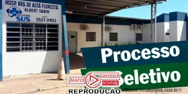 Novo Processo Seletivo do Hospital Regional de Alta Floresta contrata 215 em regime urgência e faz provas separadas 35