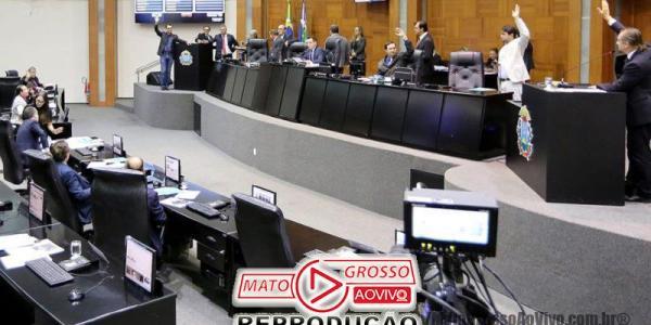 Assembleia de Mato Grosso aprova Pacote de revisão dos incentivos fiscais e aumento de impostos propostos pelo governador 26
