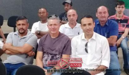 Campeões da 1ª edição da Copa Centro América de Futsal, homenageados na Câmara