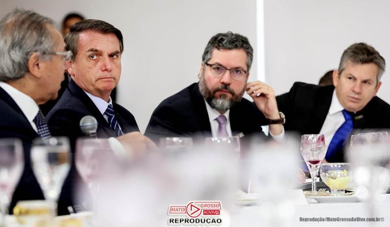 Bolsonaro e Paulo Guedes garantem repasse do FEX para deputados e governador do Mato Grosso 65