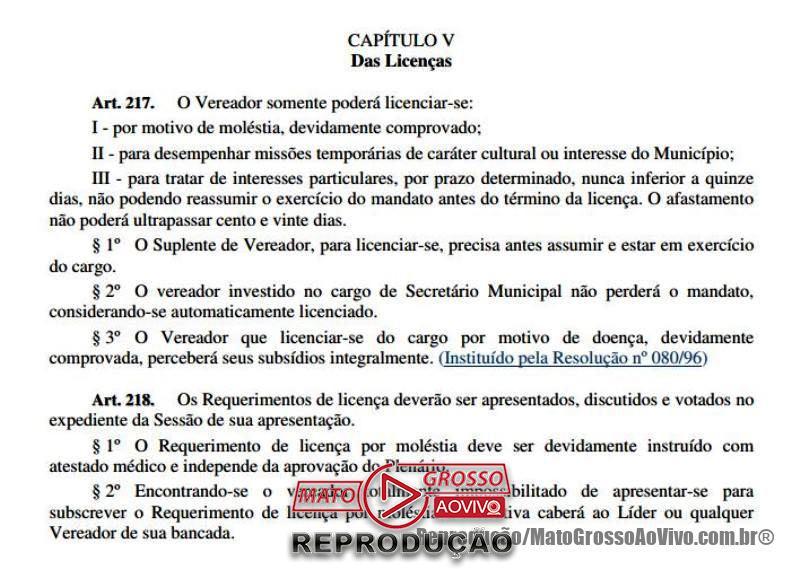 Presidente da Câmara de Alta Floresta pede que partido apresente em 72 horas nome para substituir vereador Elói Crestani 66