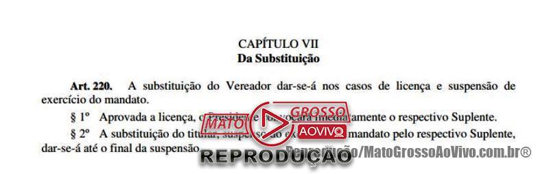 Presidente da Câmara de Alta Floresta pede que partido apresente em 72 horas nome para substituir vereador Elói Crestani 67
