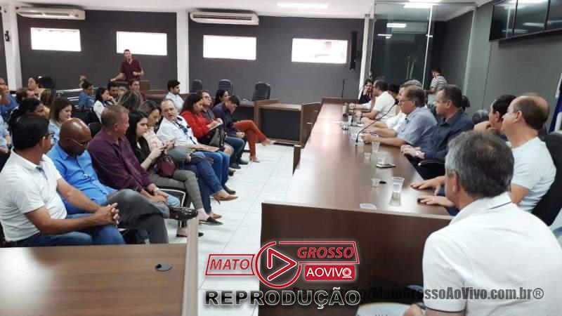 Secretário Saúde promete que 10 leitos serão concluídos no Hospital Regional de Alta Floresta até Novembro 66