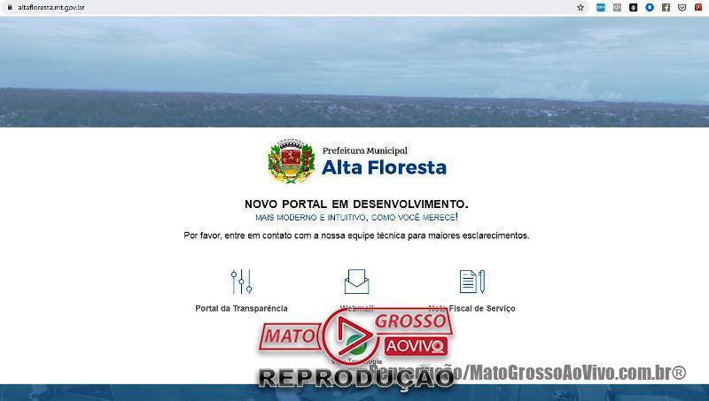 """Passados 21 dias da """"Nota de Esclarecimentos"""", licitação da prefeitura de Alta Floresta com """"empresa de gaveta"""" continua em vigência 48"""