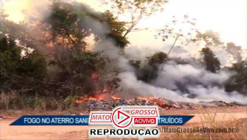 """TRAGÉDIA ANUNCIADA   Produtor rural de Alta Floresta tem propriedade destruída após incêndio iniciado no """"lixão"""" municipal 48"""