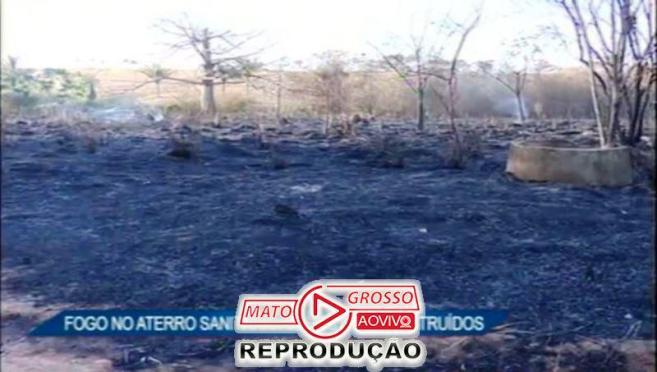 incendio no aterro sanitario de alta floresta10