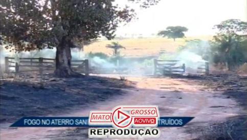 incendio no aterro sanitario de alta floresta11