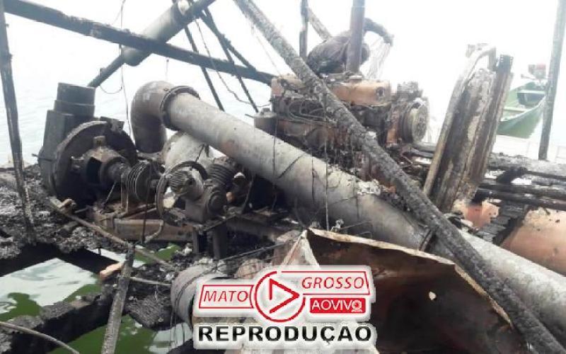 Garimpeiros próximos a Usina de São Manoel, no Rio Teles Pires, são retirados a força e balsas queimadas pelo Ibama 68