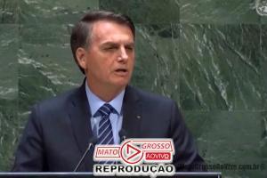 Jair Bolsonaro abre Assembleia Geral da ONU com discurso patriótico voltado a garantia da soberania nacional 80