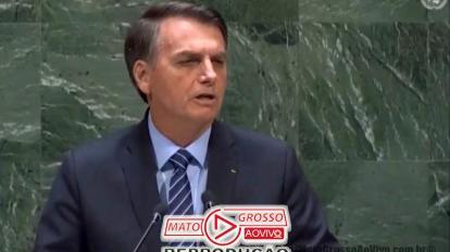 Jair Bolsonaro abre Assembleia Geral da ONU com discurso patriótico voltado a garantia da soberania nacional 20