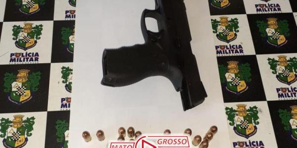Após ameaças, suspeito é preso em Alta Floresta com uma pistola em veículo enquanto tentava fugir 43
