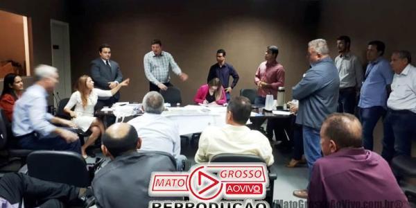 Vereadora de Alta Floresta cobra em reunião falha nos serviços prestados pela empresa Águas Alta Floresta 30