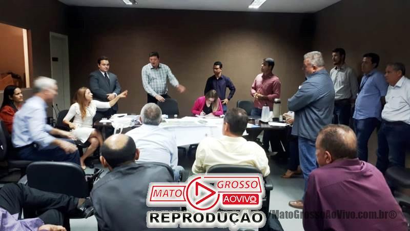 Vereadora de Alta Floresta cobra em reunião falha nos serviços prestados pela empresa Águas Alta Floresta 65