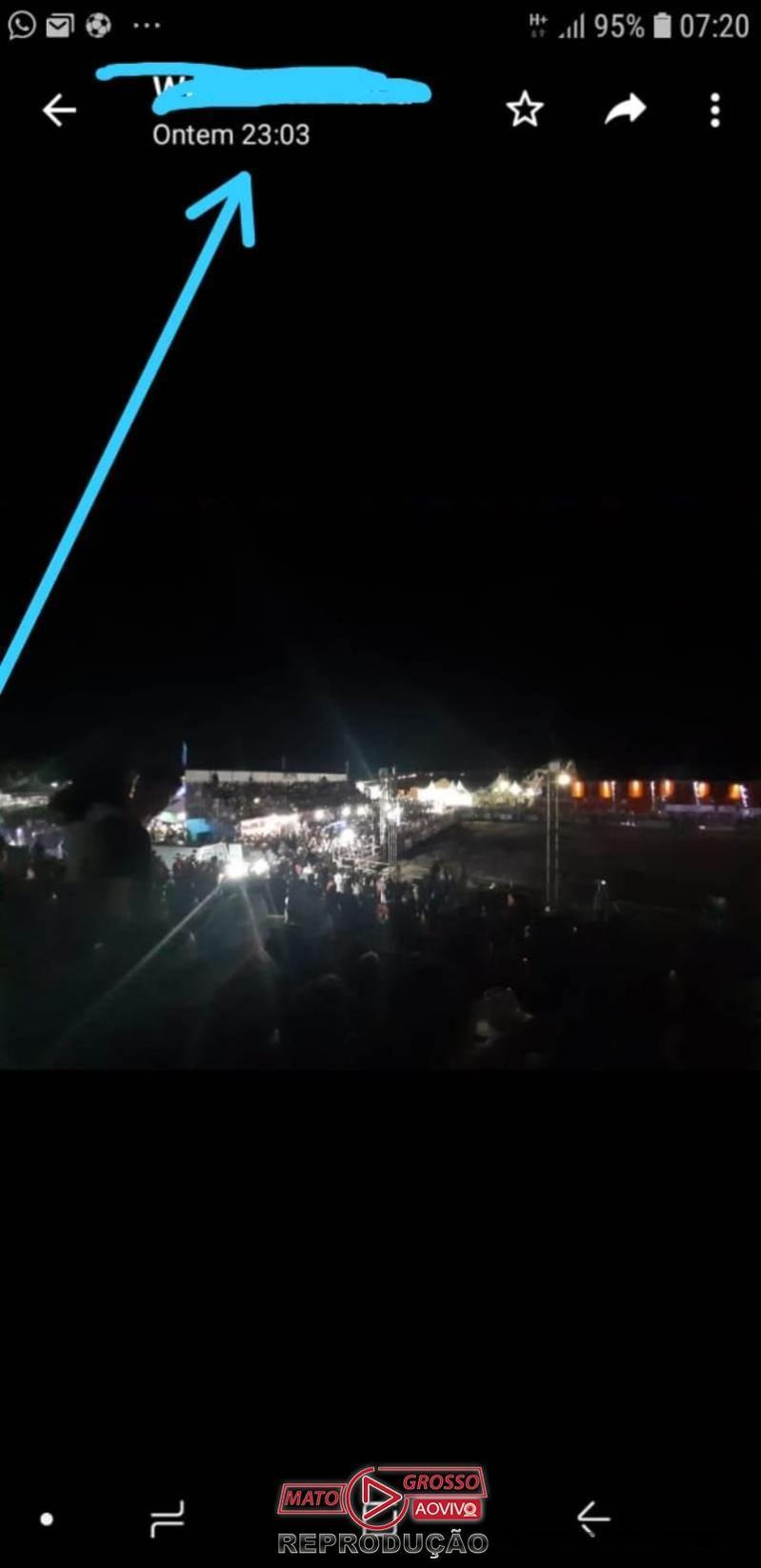 EXPO ALTA FLORESTA | Atrasos, filas gigantes e risco de acidentes são algumas da reclamações no primeiro dia do evento 65