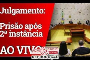 Assista ao Vivo   STF vota prisão em 2ª Instância - Acompanhe voto a voto (24/10) 74