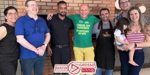 Em visita surpresa a Alta Floresta, Luciano Hang confirma instalação da Havan e almoça com empresário 27