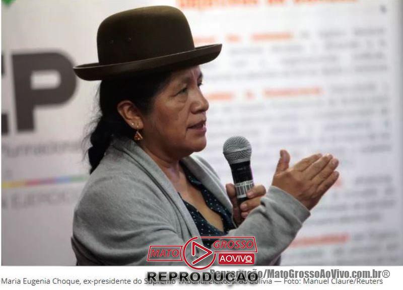 "Sob gritos de ""Narcoditador"", Evo Morales renuncia a presidência da Bolívia e presidente do Tribunal Eleitoral é presa 59"