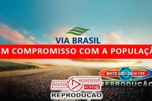 """Empresa da Praça do Pedágio de Alta Floresta descumpre compromisso em cima da hora alegando """"problemas de saúde"""" 64"""