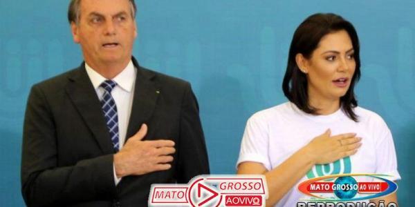 """Bolsonaro: Brasil tem um governo que """"valoriza a família e adora a Deus"""" 24"""