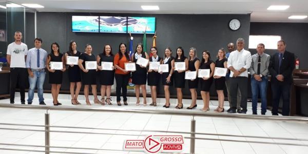 CÂMARA MUNICIPAL:  Homenagens marcaram a última sessão ordinária deste ano 32