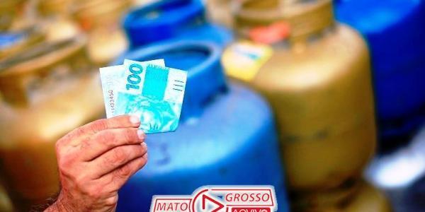 Apesar de alta, gás de cozinha pode ser encontrado pelo valor de R$95 em Alta Floresta 27