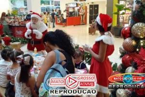 """Café com o Noel: O """"bom velhinho"""" recebe crianças com salgadinhos, suco e bolo em Cuiabá 86"""
