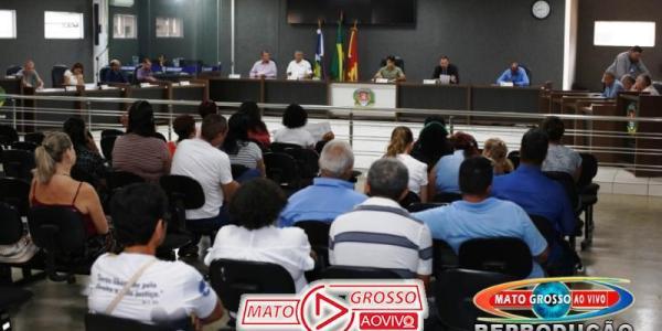 Câmara Municipal de Alta Floresta aprova RGA para servidores do Poder Legislativo 31