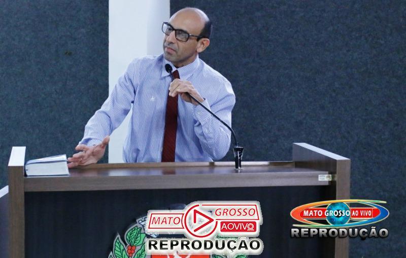 Vereador do PSDB de Alta Floresta diz que partido pode ter candidato próprio a prefeito e reclama da presidência 57