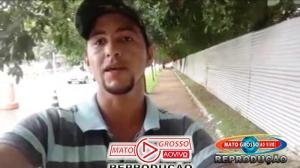 """Servidor de Alta Floresta que denunciou pneus sem licitação em caminhão do presidente da Câmara é colocado pra """"varrer ruas"""" 249"""