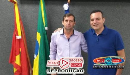 Vereador Dida Pires e Marco Marrafon do cidadania, firmaram aliança com partidos que pretendem disputar a prefeitura de Alta Floresta.