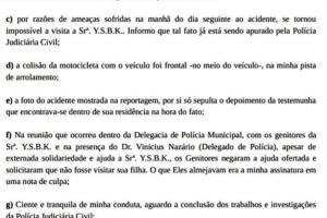 Empresária Abgail Carlini envia Nota de Esclarecimento sobre acidente do dia 08/02 54