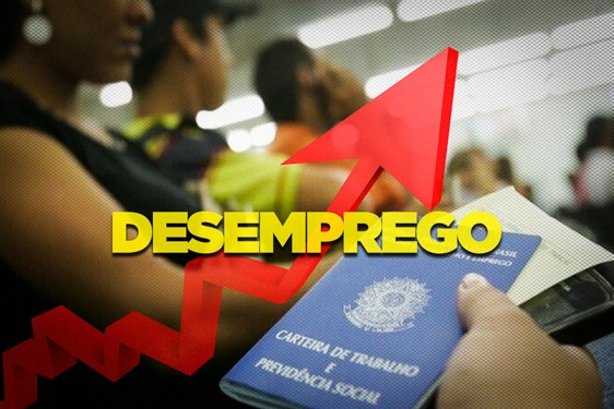 Com quase 15 milhões de desempregados, Brasil atinge recorde histórico desde 2012, segundo pesquisa do IBGE