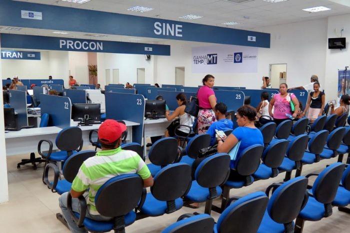 Mais de 1,5 mil vagas de emprego são ofertadas pelo Sine de Mato Grosso essa semana