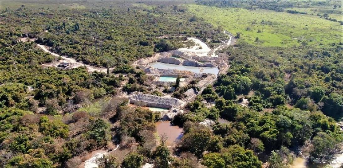 Operação Amazônia embarga 12 garimpos ilegais em Apiacás-MT