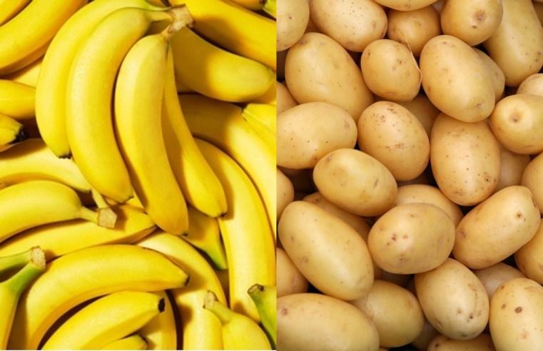 Banana e batata estão entre as maiores quedas de preço dos produtos de hortifruti em junho, segundo SEAF