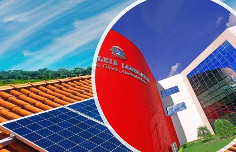Decreto Legislativo mantém isenção da cobrança do ICMS sobre energia solar em MT