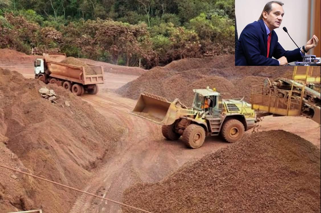 Parlamentar defende revisão na cobrança de impostos do setor de mineração de Mato Grosso