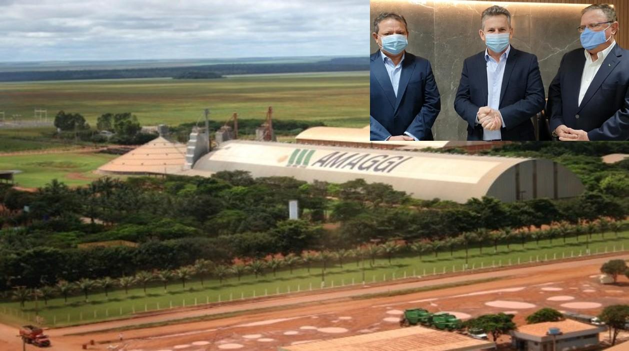 Amaggi vai investir R$ 574 milhões em MT e 1430 empregos devem ser gerados