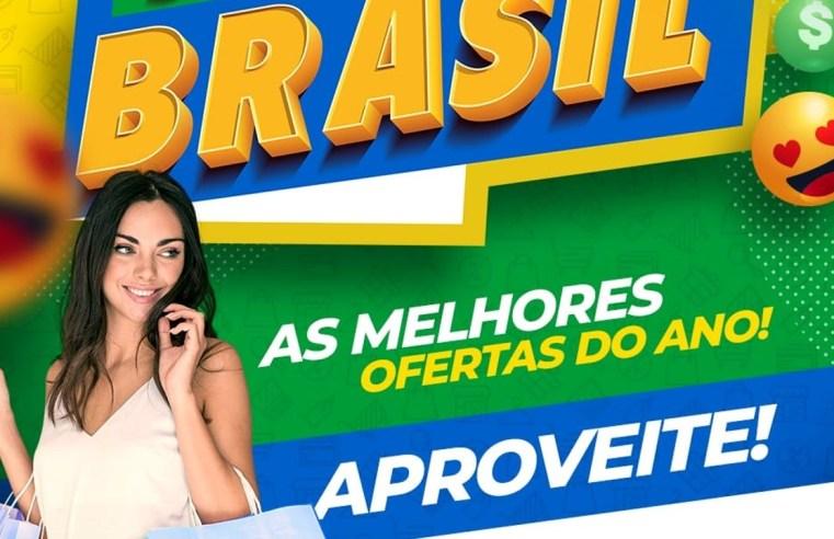 Semana Brasil deve aquecer comércio em Cuiabá, segundo CDL