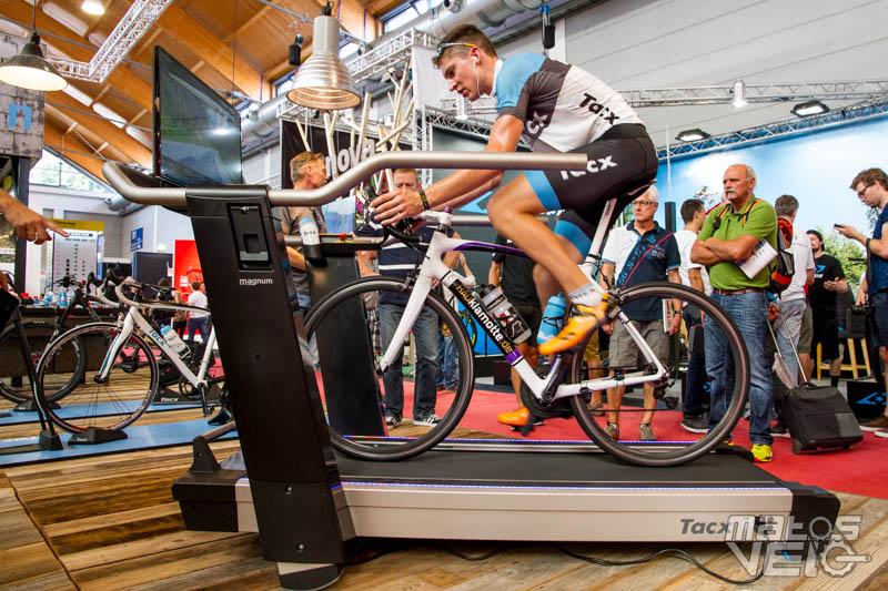 eurobike tacx magnum le home trainer tapis roulant pour velo matos velo actualites velo de route et tests de materiel cyclisme