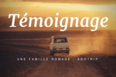 témoignage famille nomade