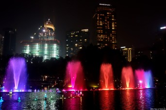Kuala Lumpur lumières