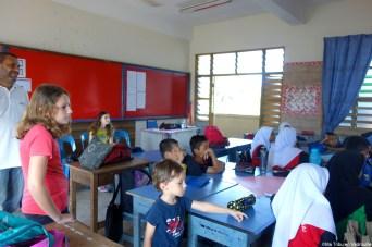visite école