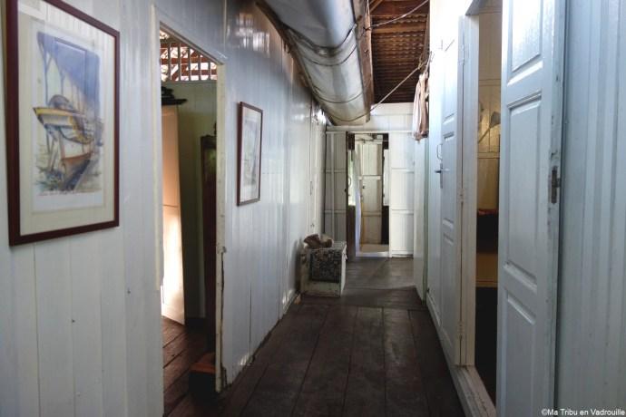 couloir maison Pulau Duyong