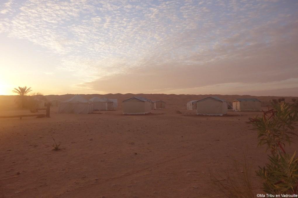 Le campement tunisien