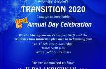 Annual day celebration -01.02.2020