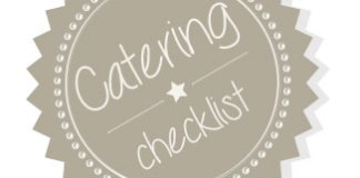 catering checklist